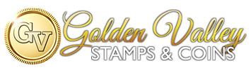 Golden Valley Stamps and Coin